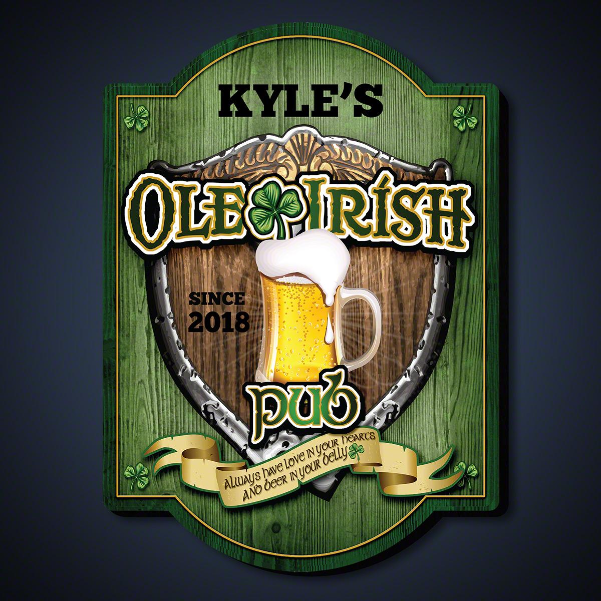 Ole-Irish-Personalized-Pub-Sign