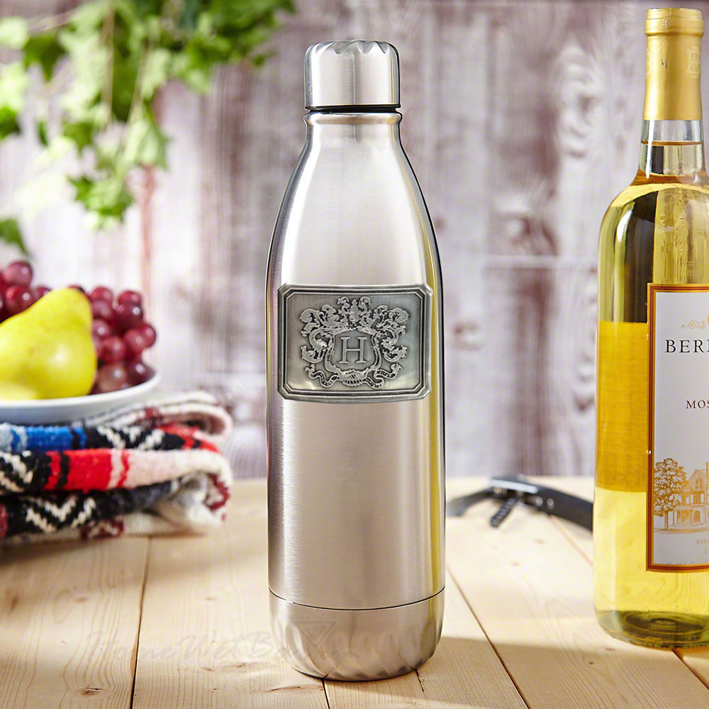 Wineteen Wine Bottle Canteen with Crest