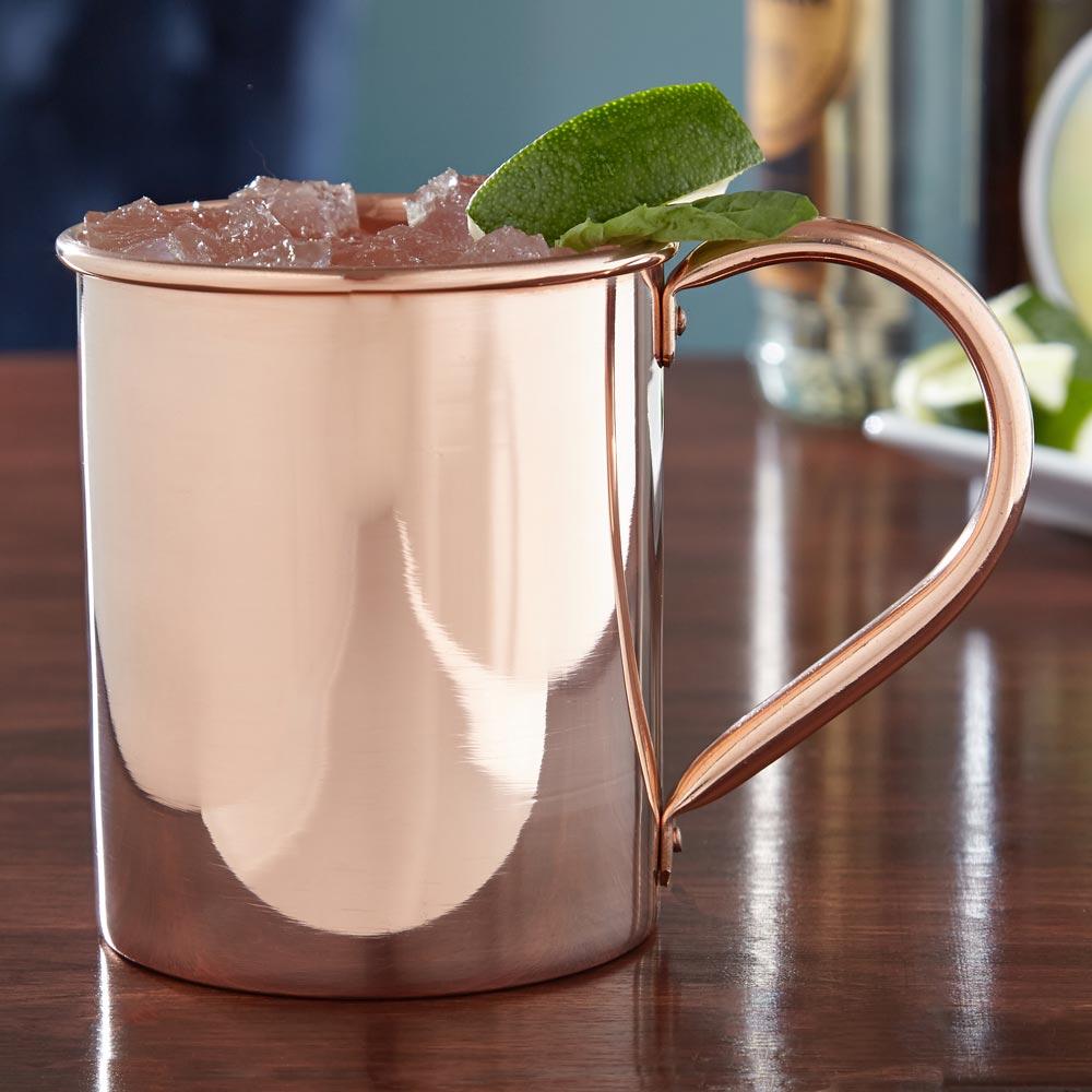Nikolay Solid Copper Moscow Mule Mug Large 18oz