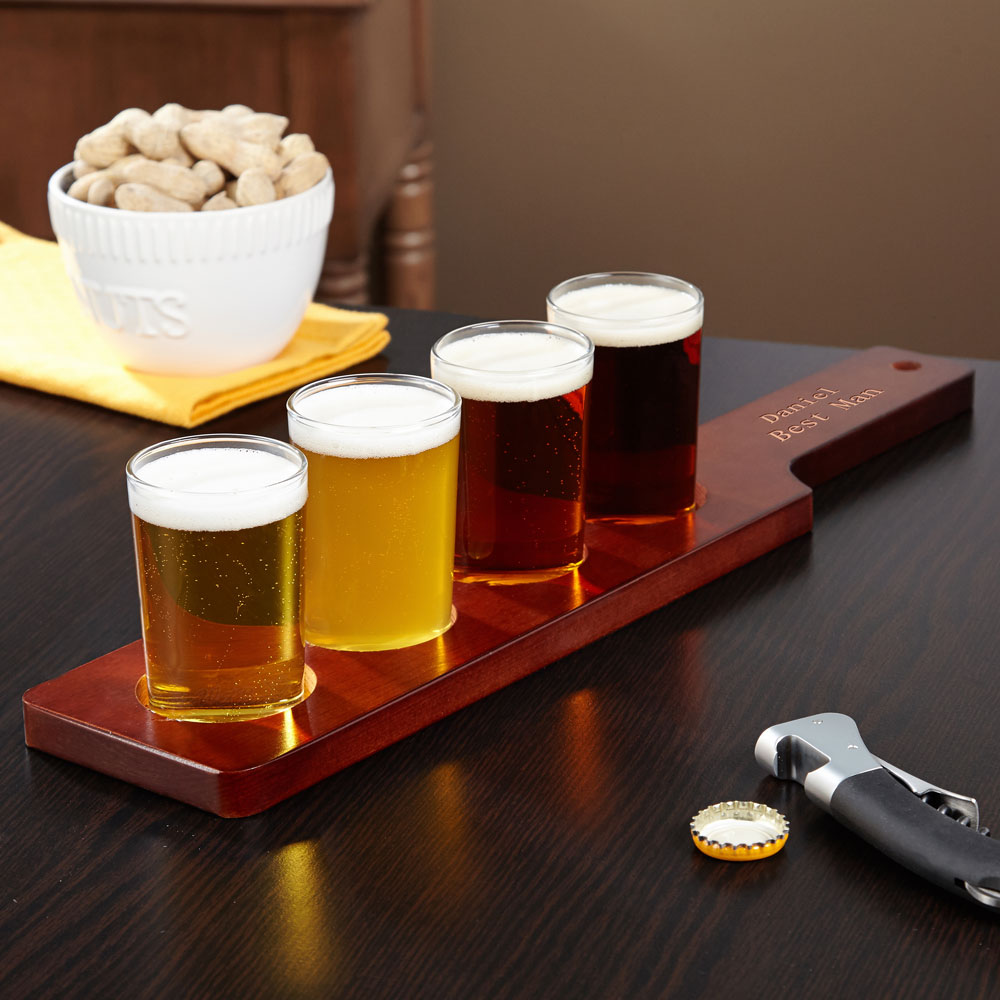 Colfax Personalized Beer Flight Set