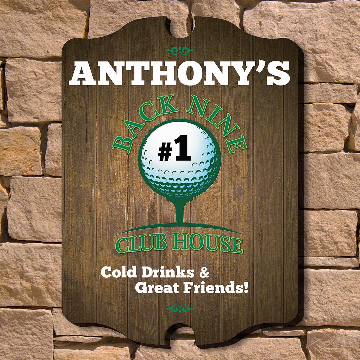 Back-Nine-Club-House-Custom-Golf-Sign