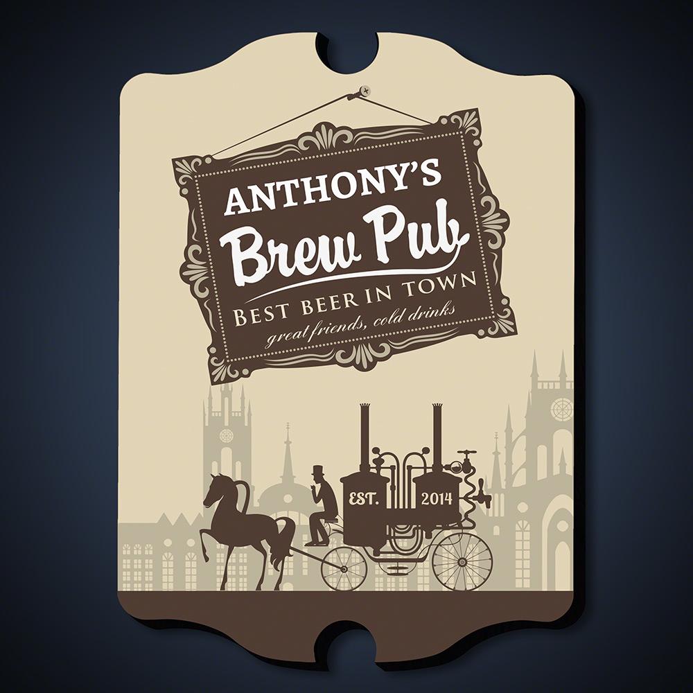 Pre-Prohibition-Brew-Pub-Personalized-Sign