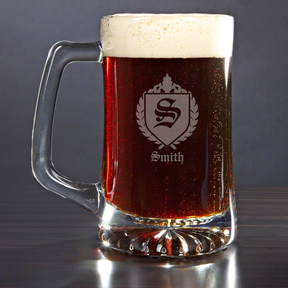 Oxford Personalized Beer Mug