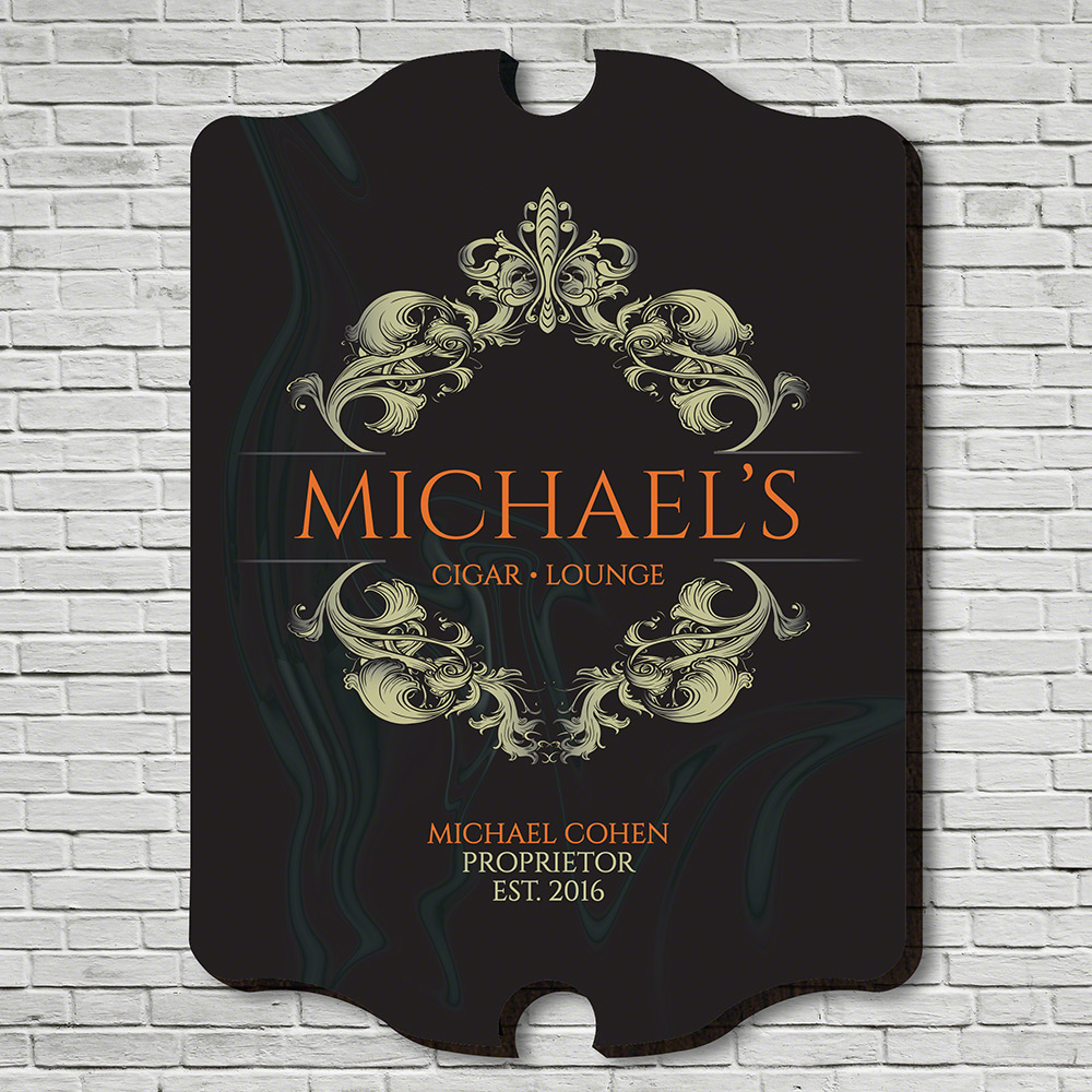 Downtown-Cigar-Lounge-Personalized-Wall-Sign