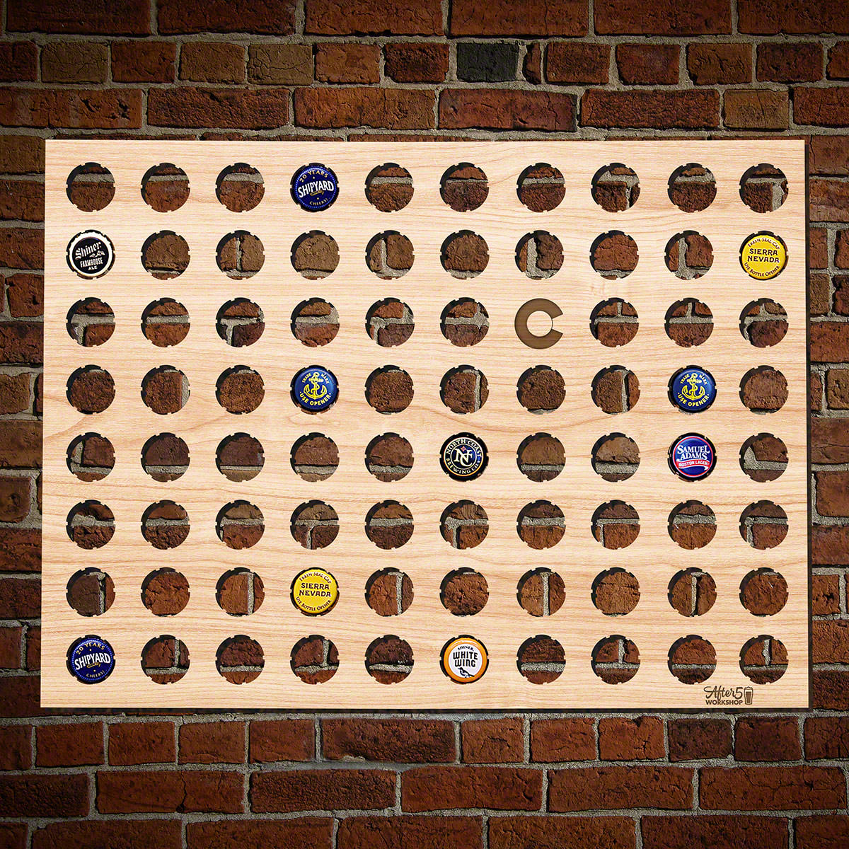 Colorado Beer Cap Map