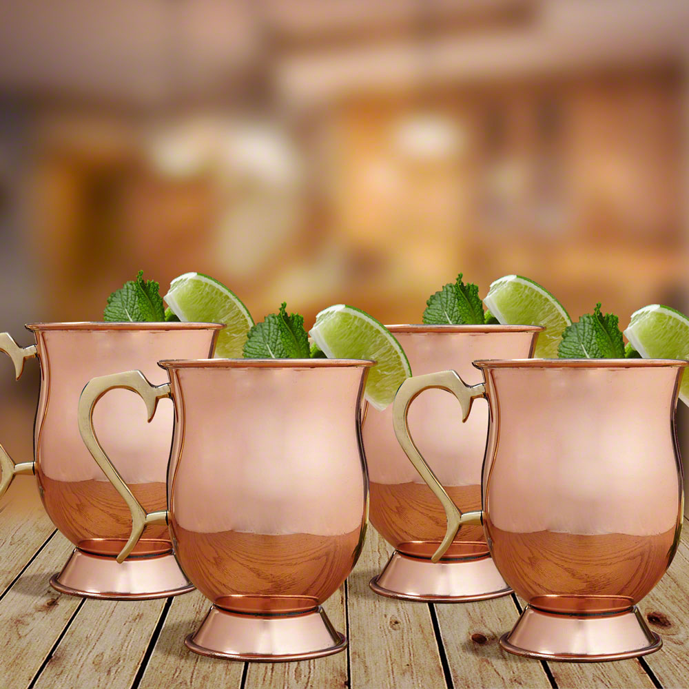Ivan Moscow Mule Mugs, Set of 4
