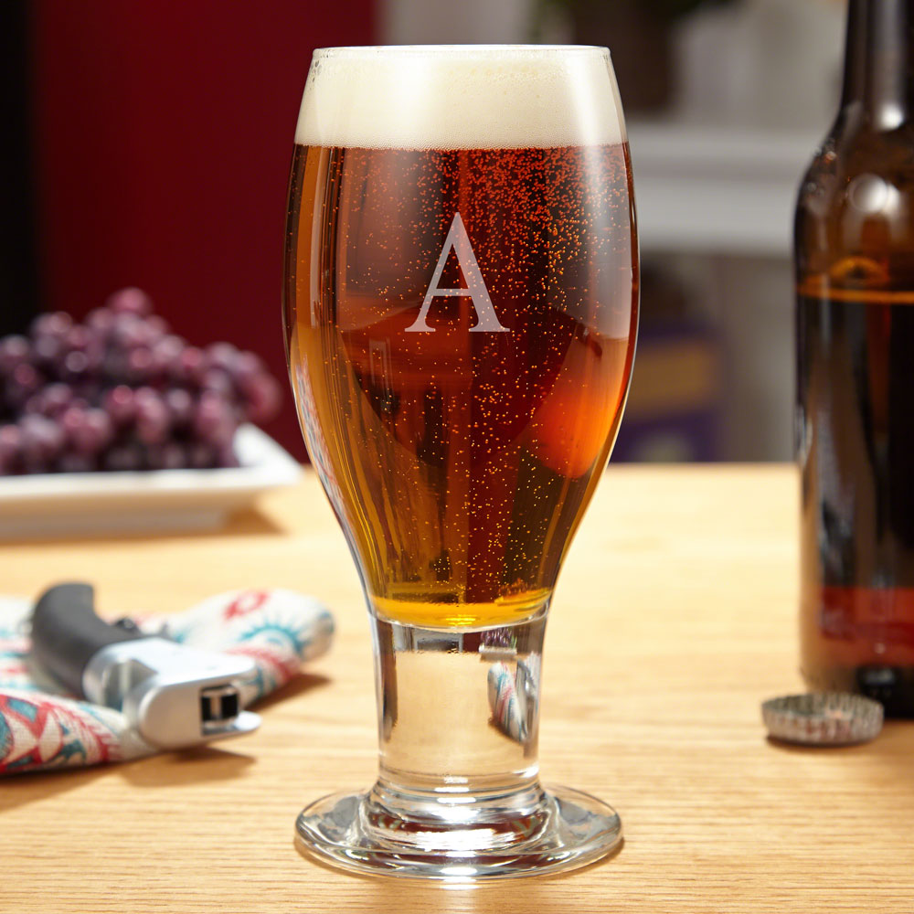 Concord Engraved Beer Glass