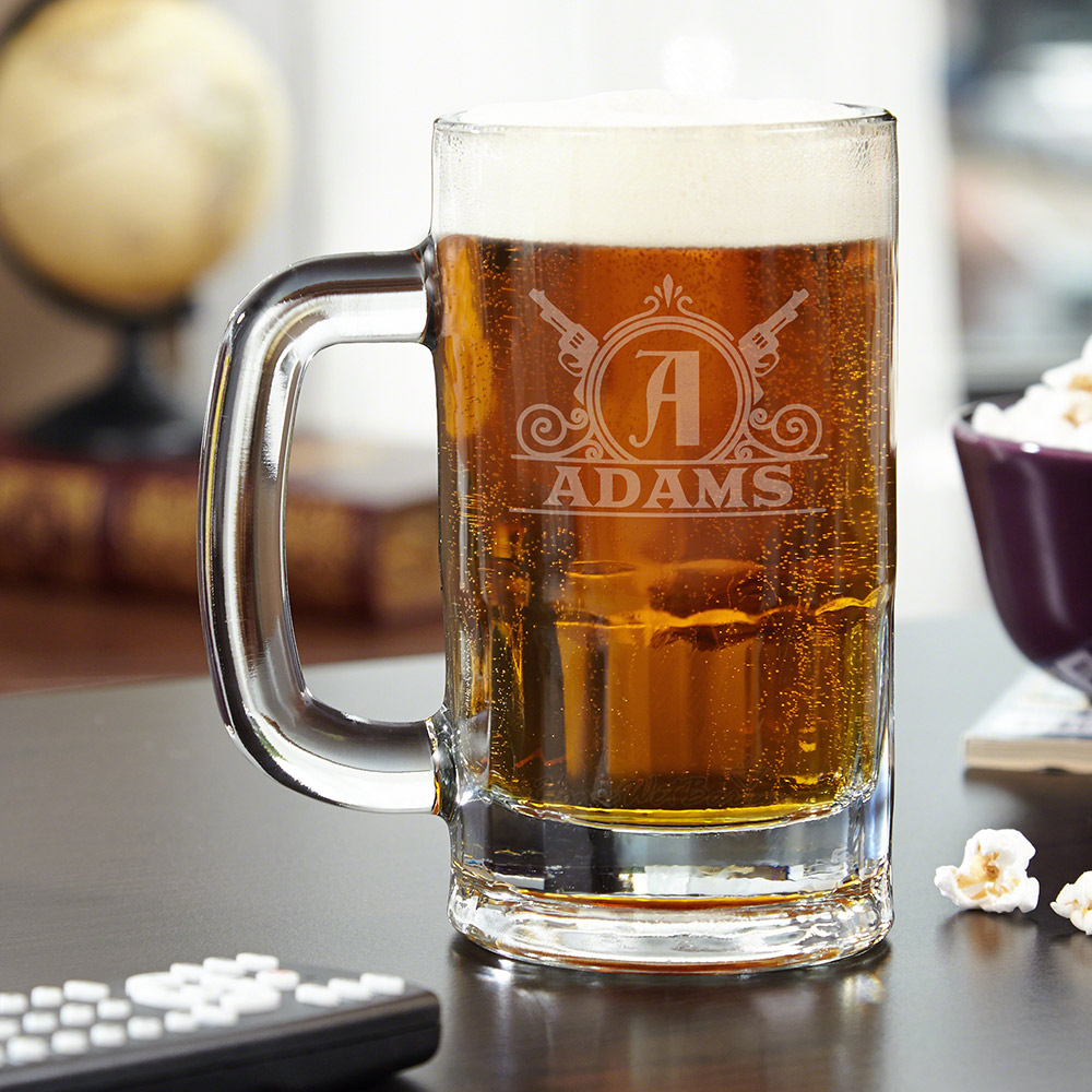 roosevelt engraved benton beer mug