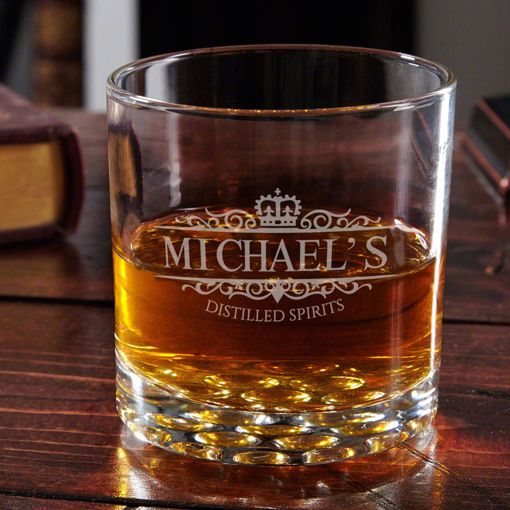 Buckman Kensington Personalized Whiskey Glass