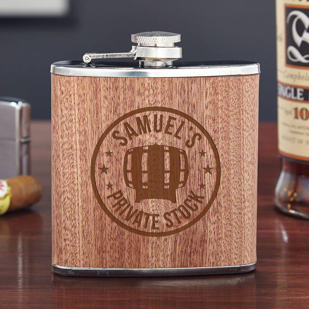 Walden Custom Private Stock Hip Flask
