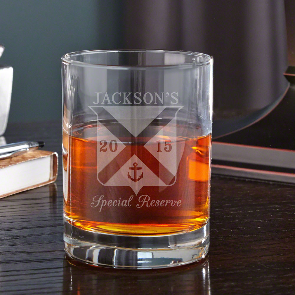 Special Reserve Personalized Eastham Whiskey Glass