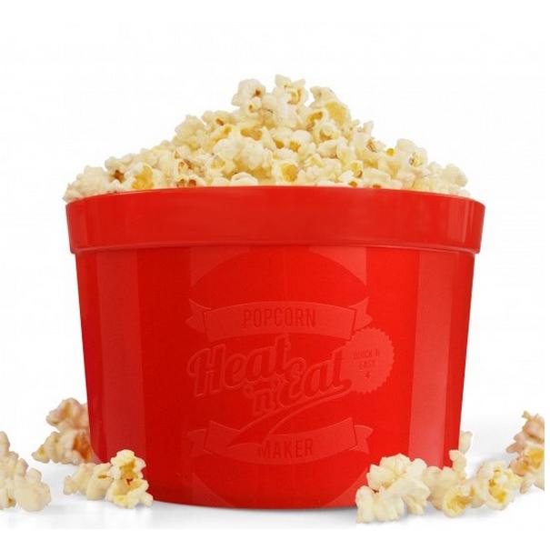 Reel Fast Microwave Popcorn Popper