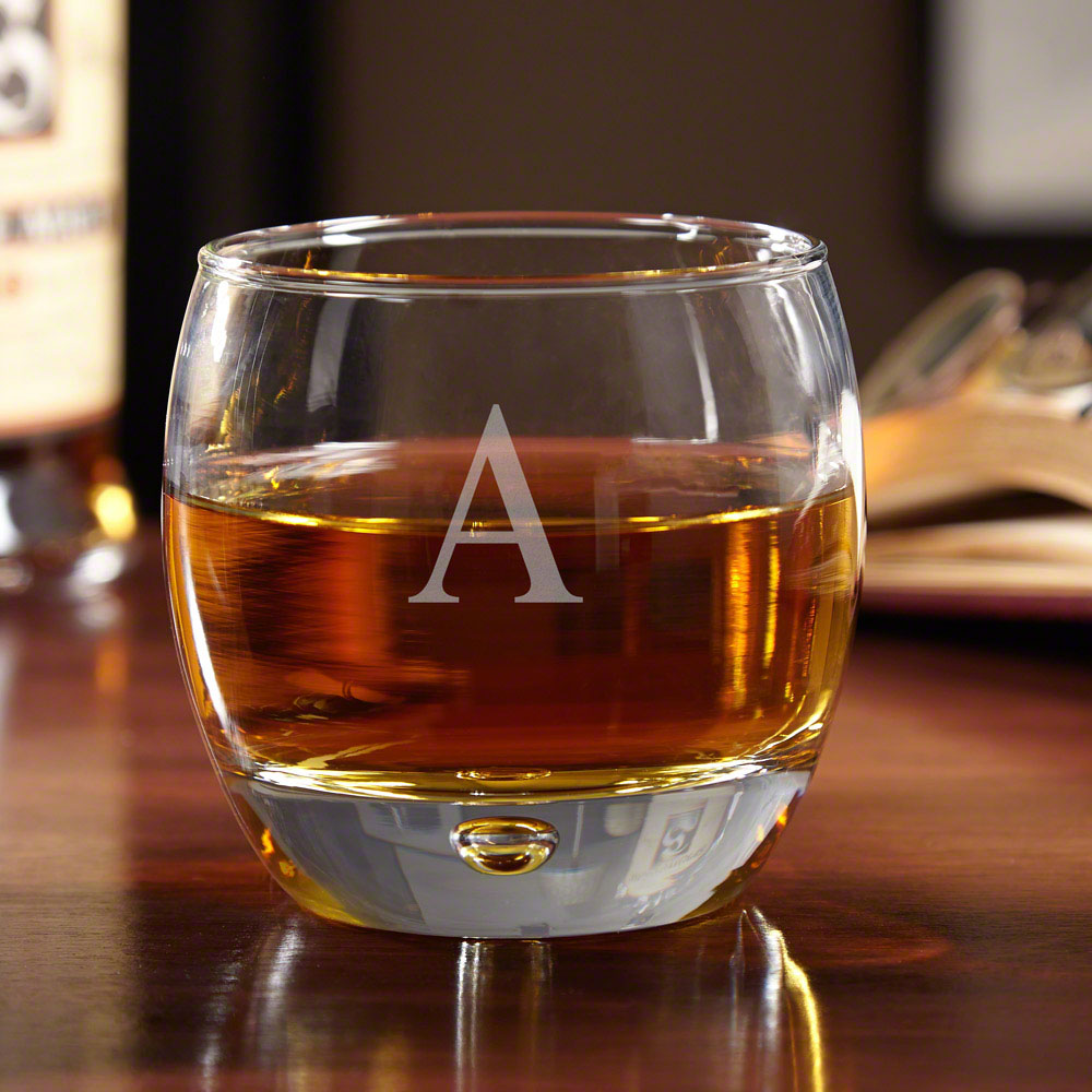 Uptown Personalized Whiskey Glass