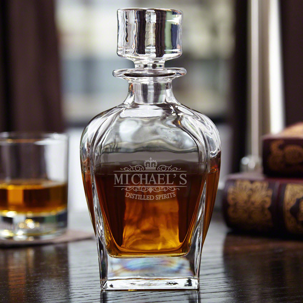 Kensington-Personalized-Draper-Whiskey-Decanter
