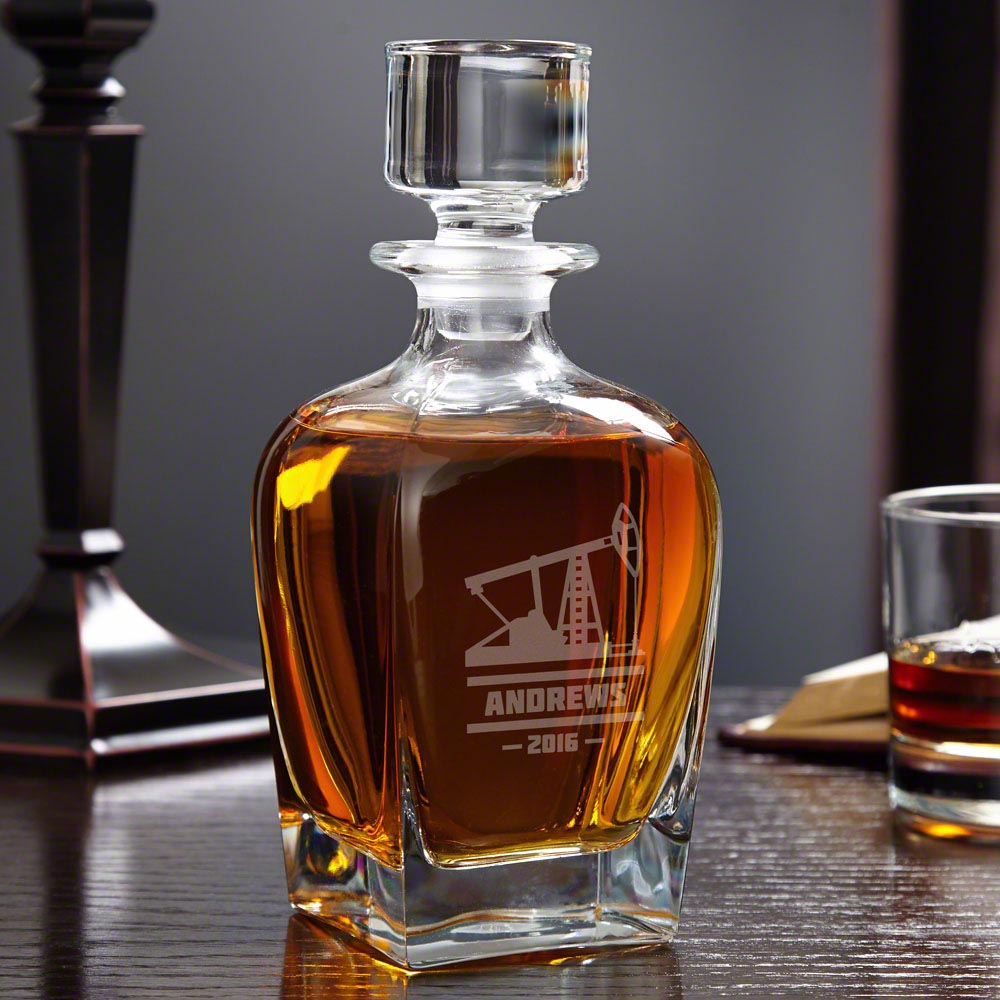 Oilfield-Personalized-Whiskey-Decanter