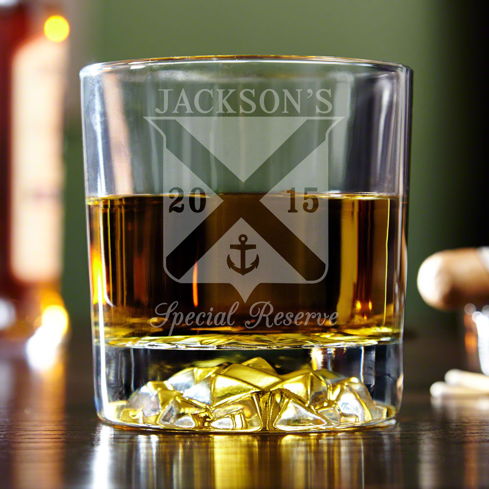 Special Reserve Personalized Whiskey Tumbler
