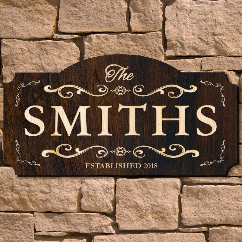 House to Home Custom Wood Sign (Signature Series)