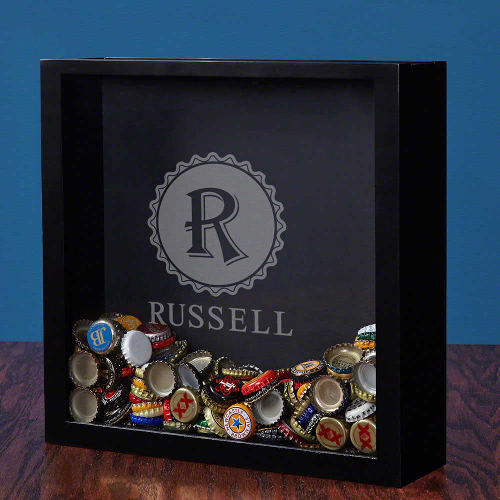 Open-Beer-Bottle-Cap-Shadow-Box