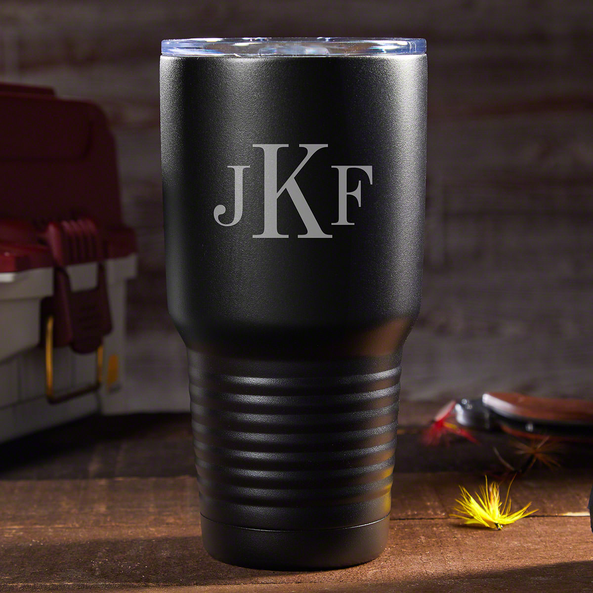 When you have a million things to worry about you shouldn't add the hassle of having to chug down your hot coffee as to not waste it. Keep things scorching hot or cool as a cucumber with this awesome personalized insulated travel mug. Crafted from 18/8 do #mug