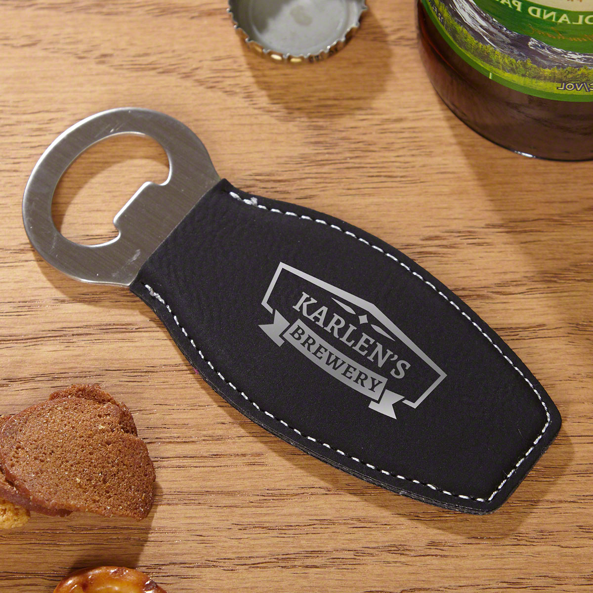 Classic Brewery Custom Leatherette Bottle Opener