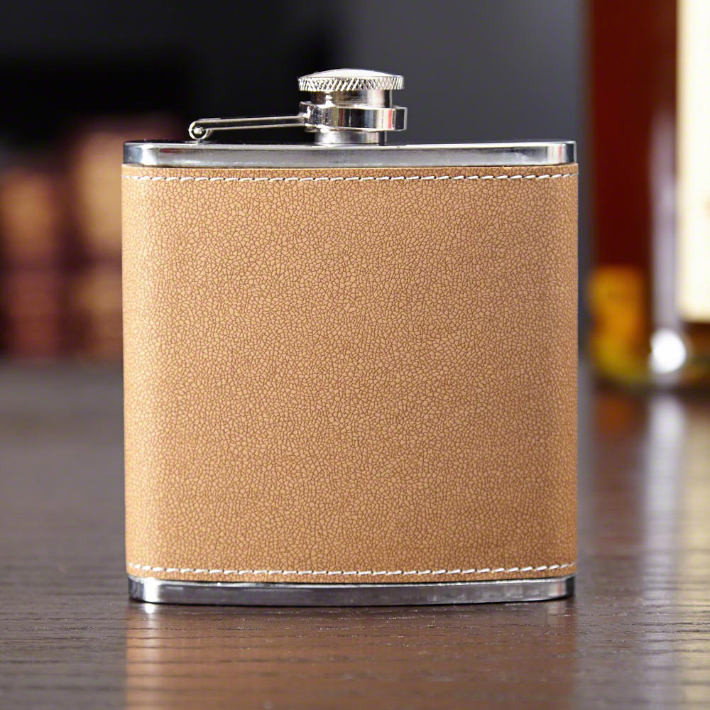 Genuine Leather Hip Flask Add-On