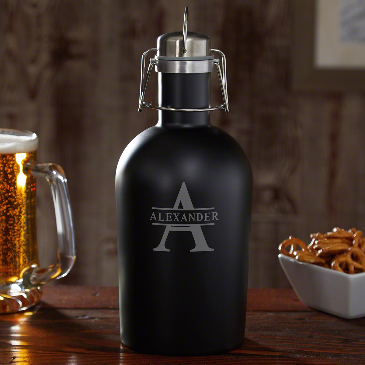 Oakmont Personalized Stainless Steel Beer Growler