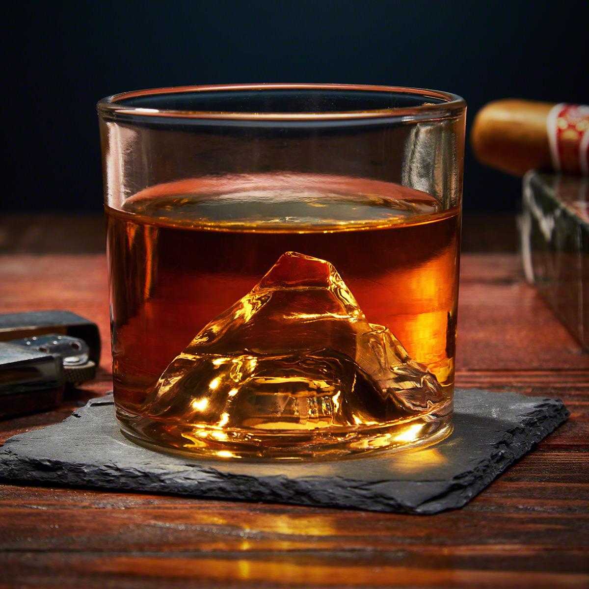 Matterhorn Cool Whiskey Glass (Customizable)