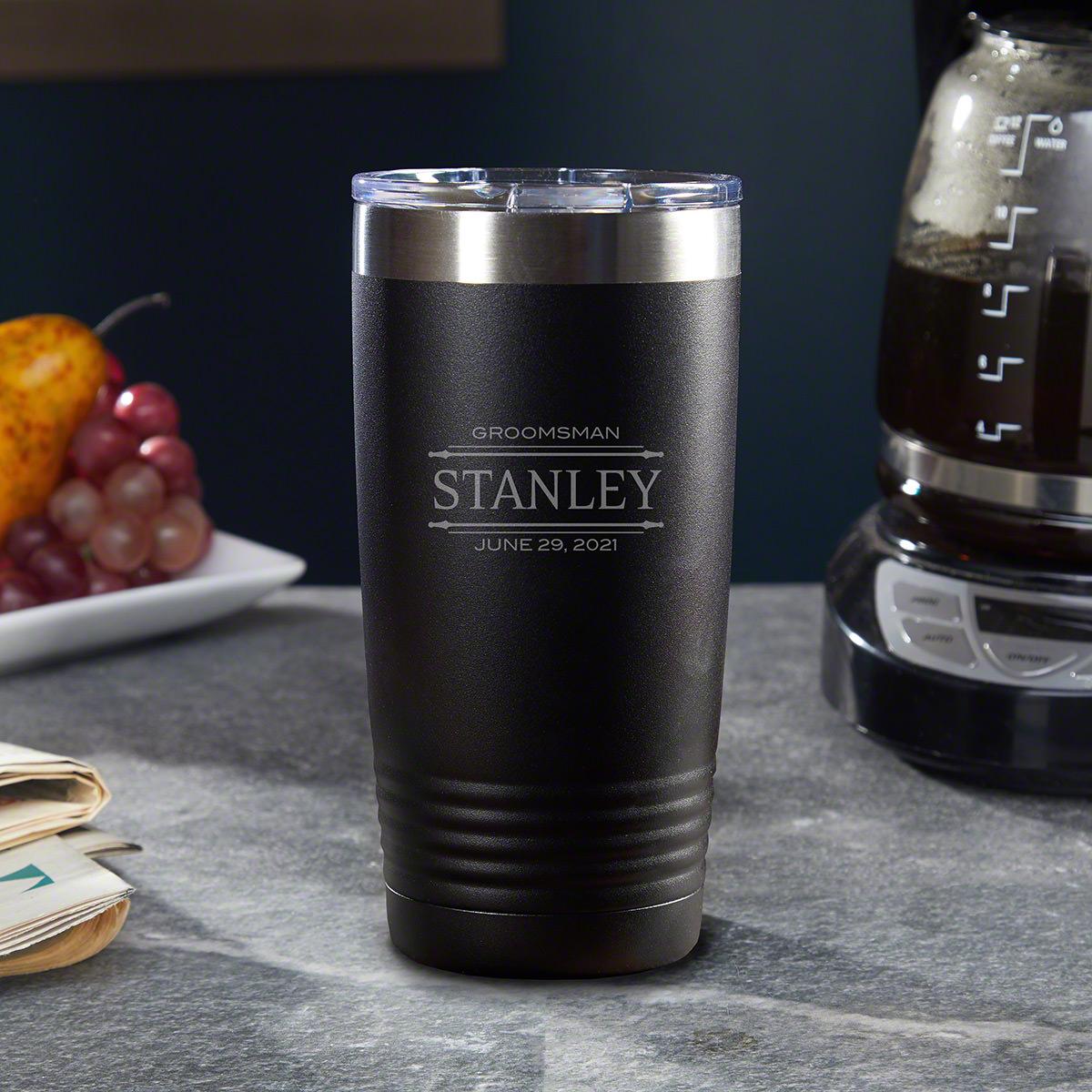 Stanford Stainless Steel Insulated Tumbler Gift for Groomsmen