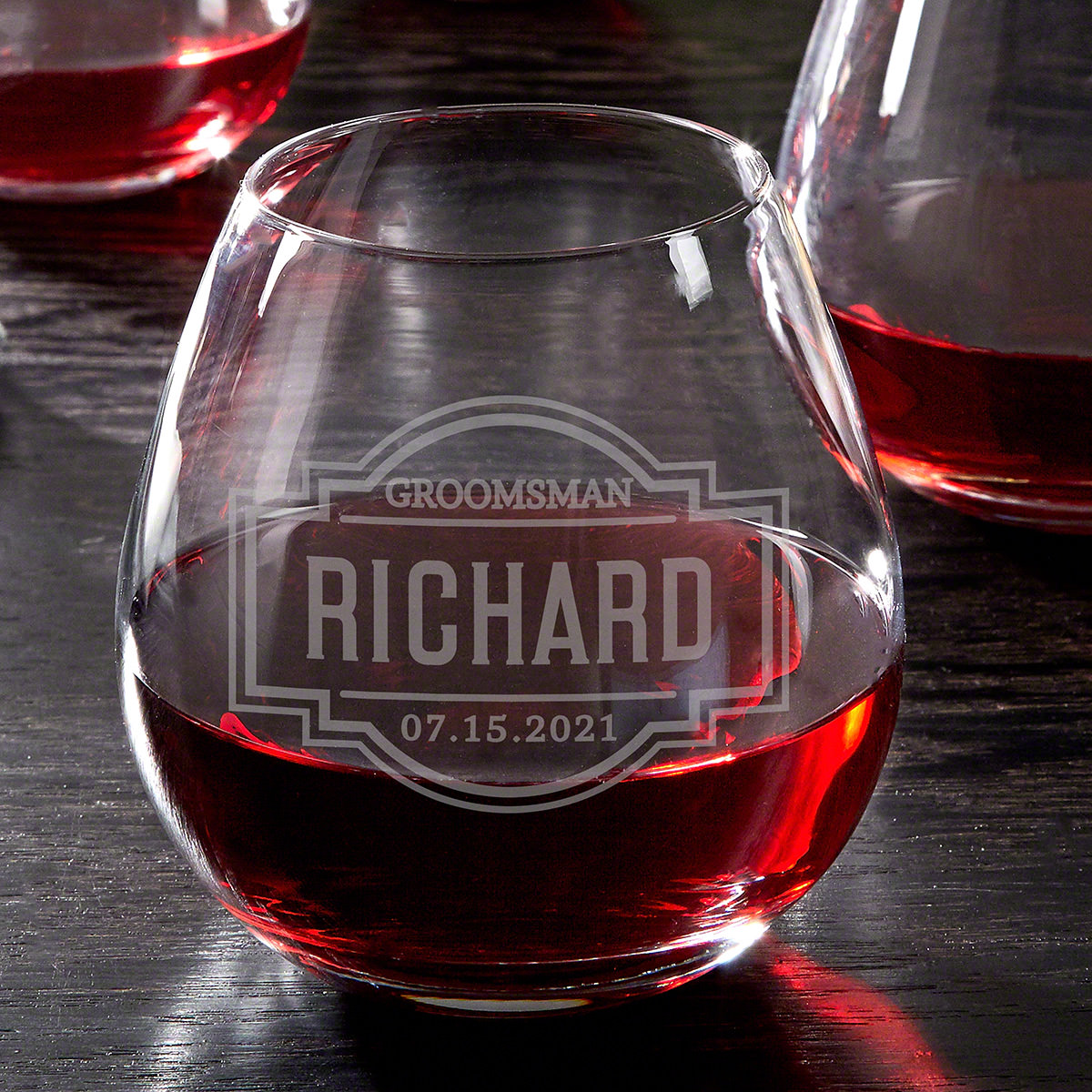 Fremont Custom Stemless Wine Glass