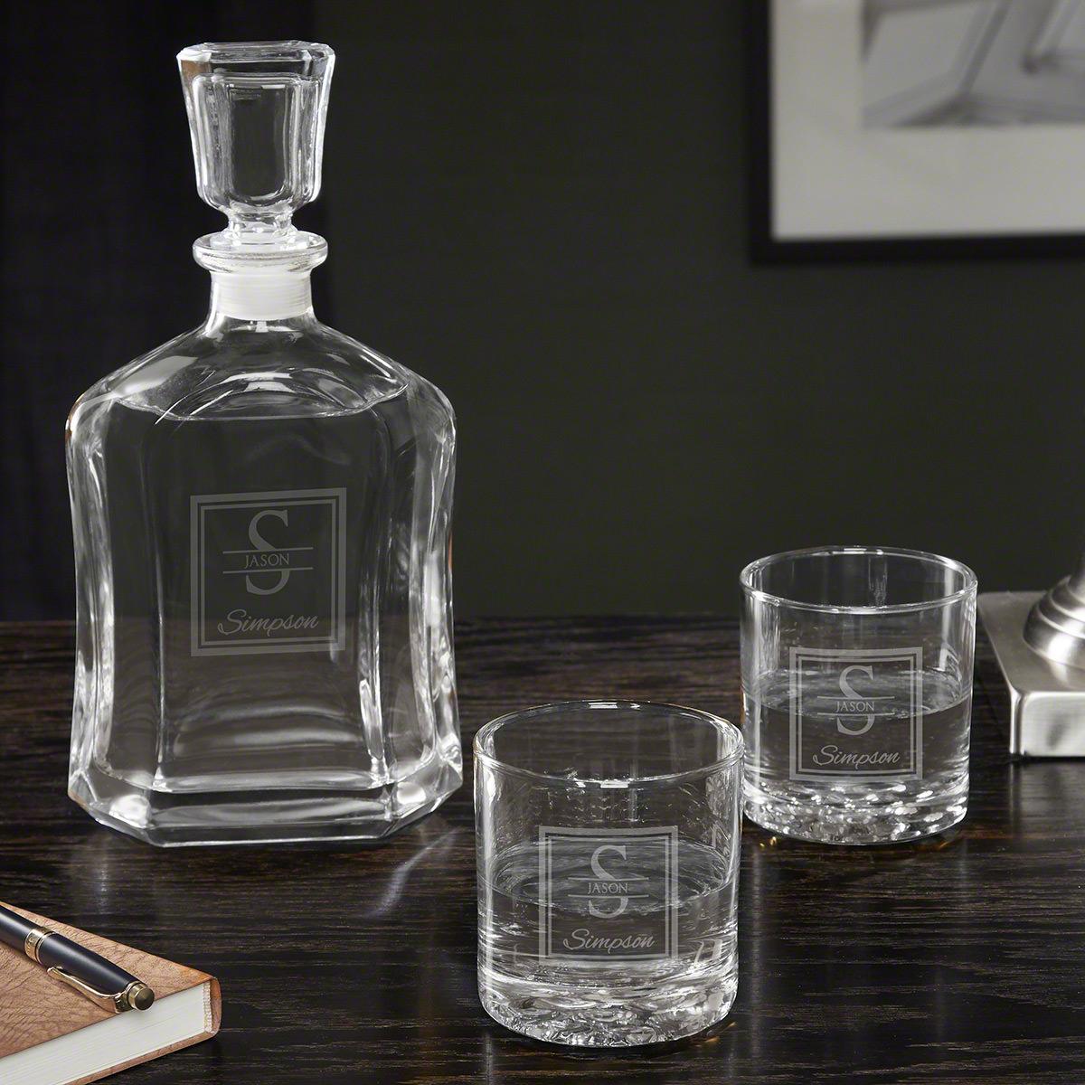 Oakhill Personalized Vodka Decanter Set