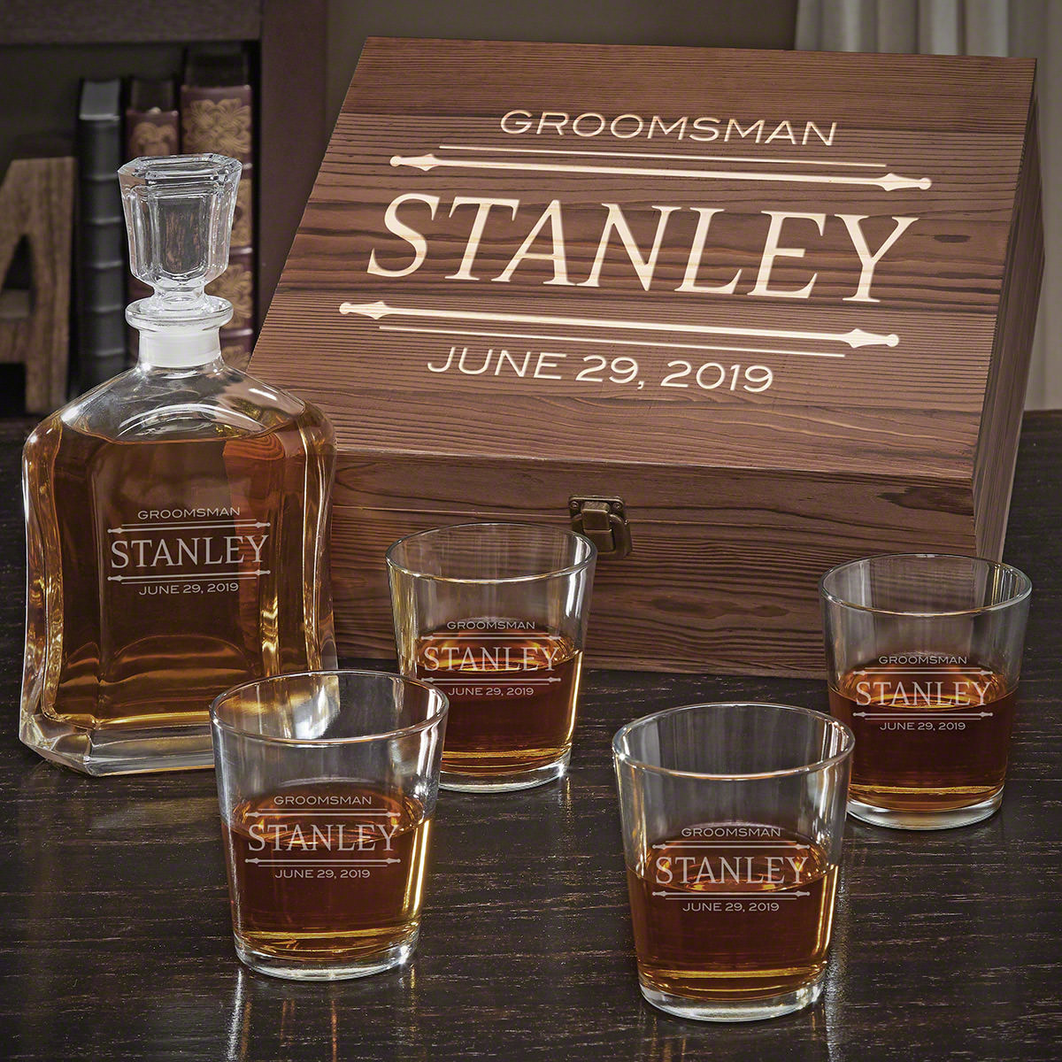 Stanford-Custom-Argos-Decanter-Set-with-On-the-Rocks-Glasses-e28093-Gift-for-Groomsmen