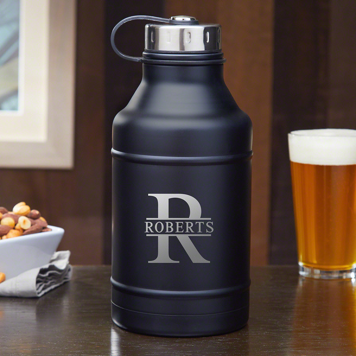 Oakmont Double Walled Personalized Beer Growler