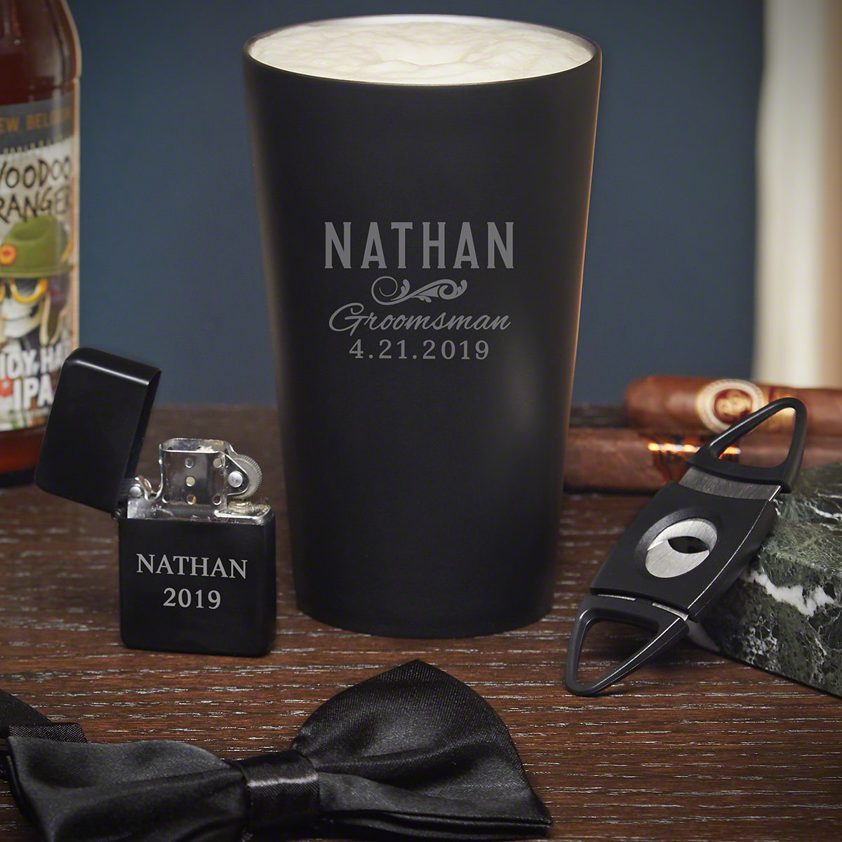 Classic Groomsman Personalized Groomsmen Gift Set