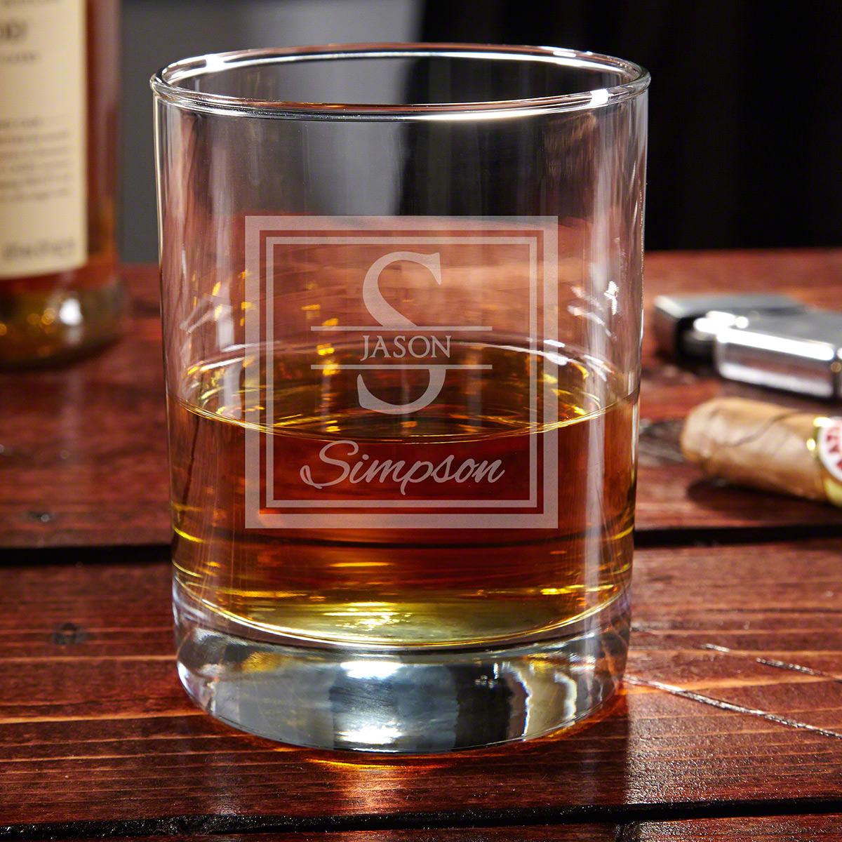 Oakhill Eastham Personalized Whiskey Glass