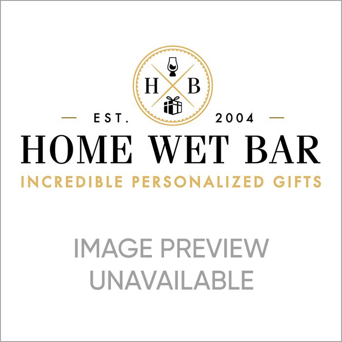 Oakmont Engraved Carson Gin Decanter