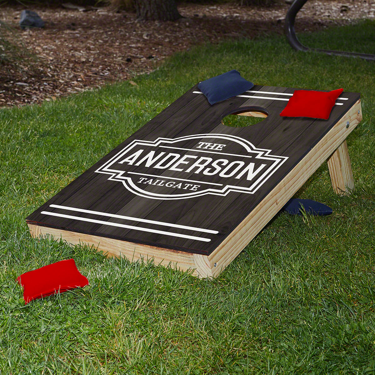 Fremont Personalized Bean Bag Toss Boards with Bean Bags