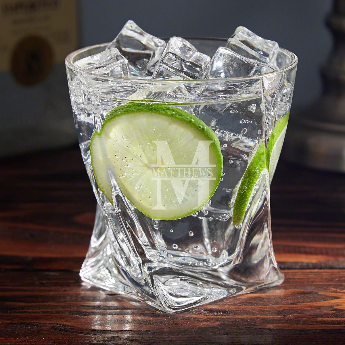 Oakmont Personalized Gin Glass
