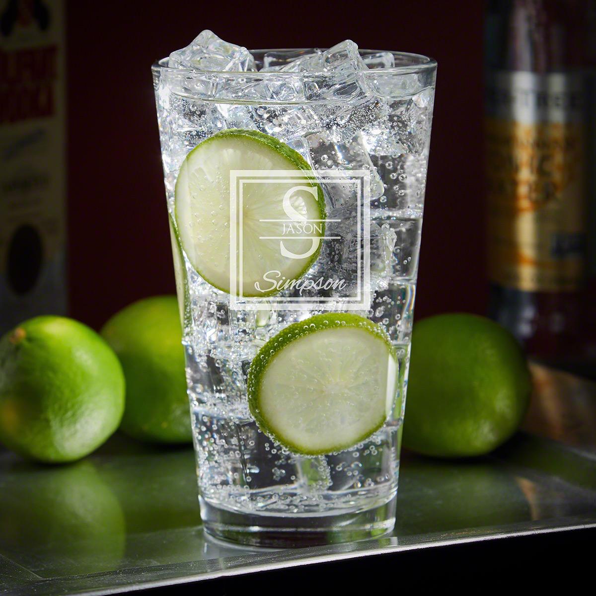 Oakhill Engraved Cocktail Glass