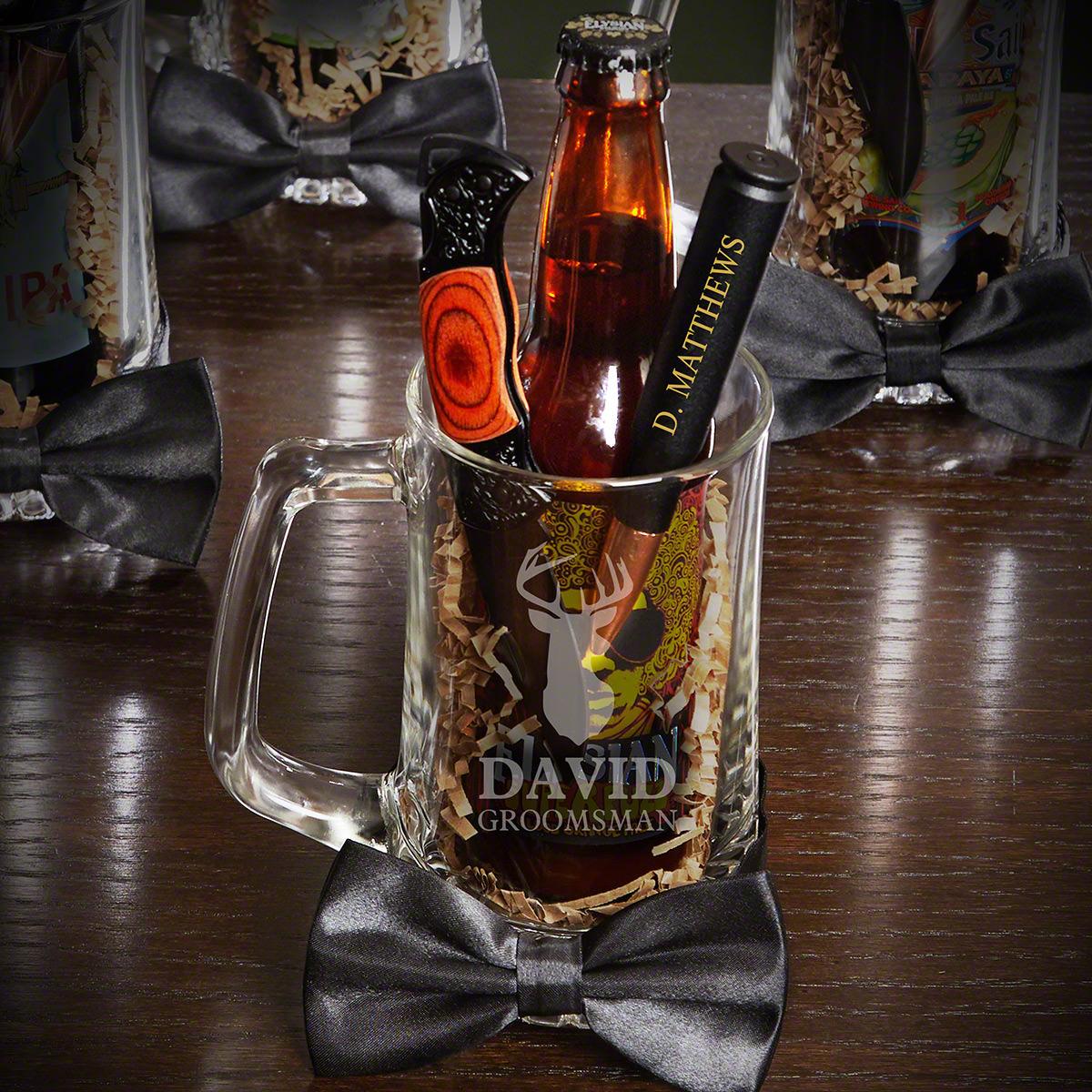Woodlands-Personalized-Beer-Mug-Groomsman-Gift-Set