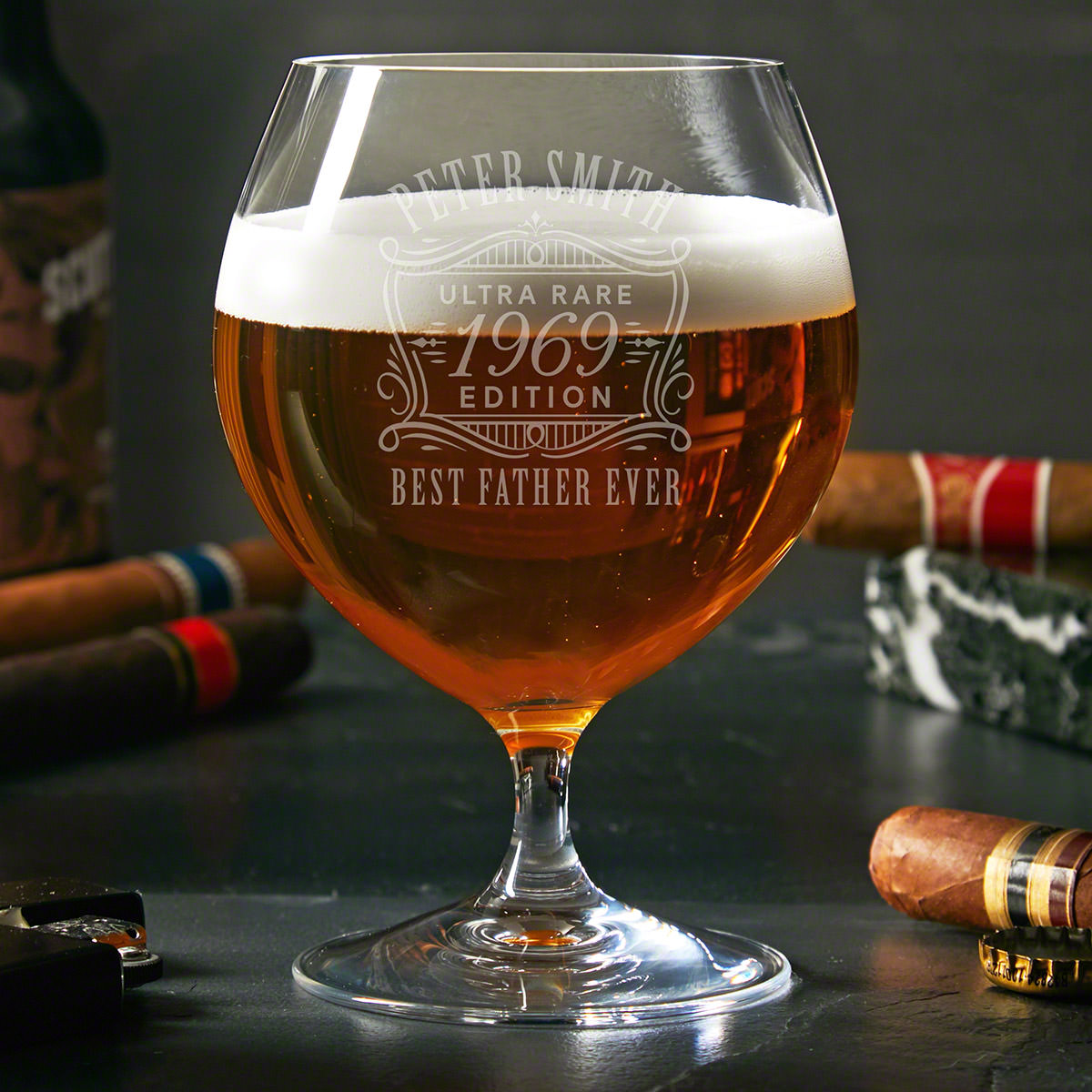 Ultra Rare Edition Personalized Opus Craft Beer Glass