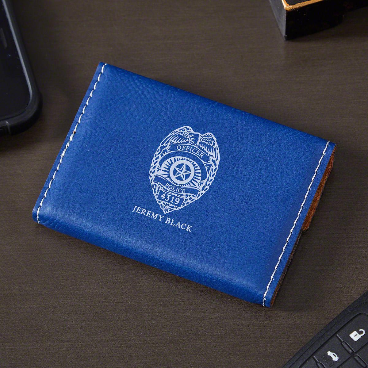 Police-Badge-Custom-Business-Card-Holder-Police-Gift