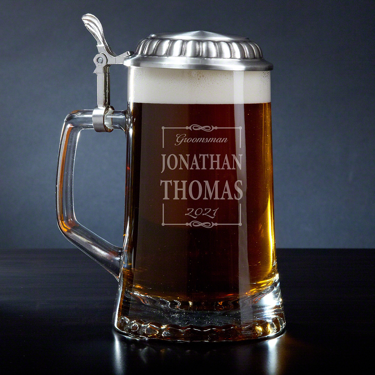Monroe Personalized Beer Stein