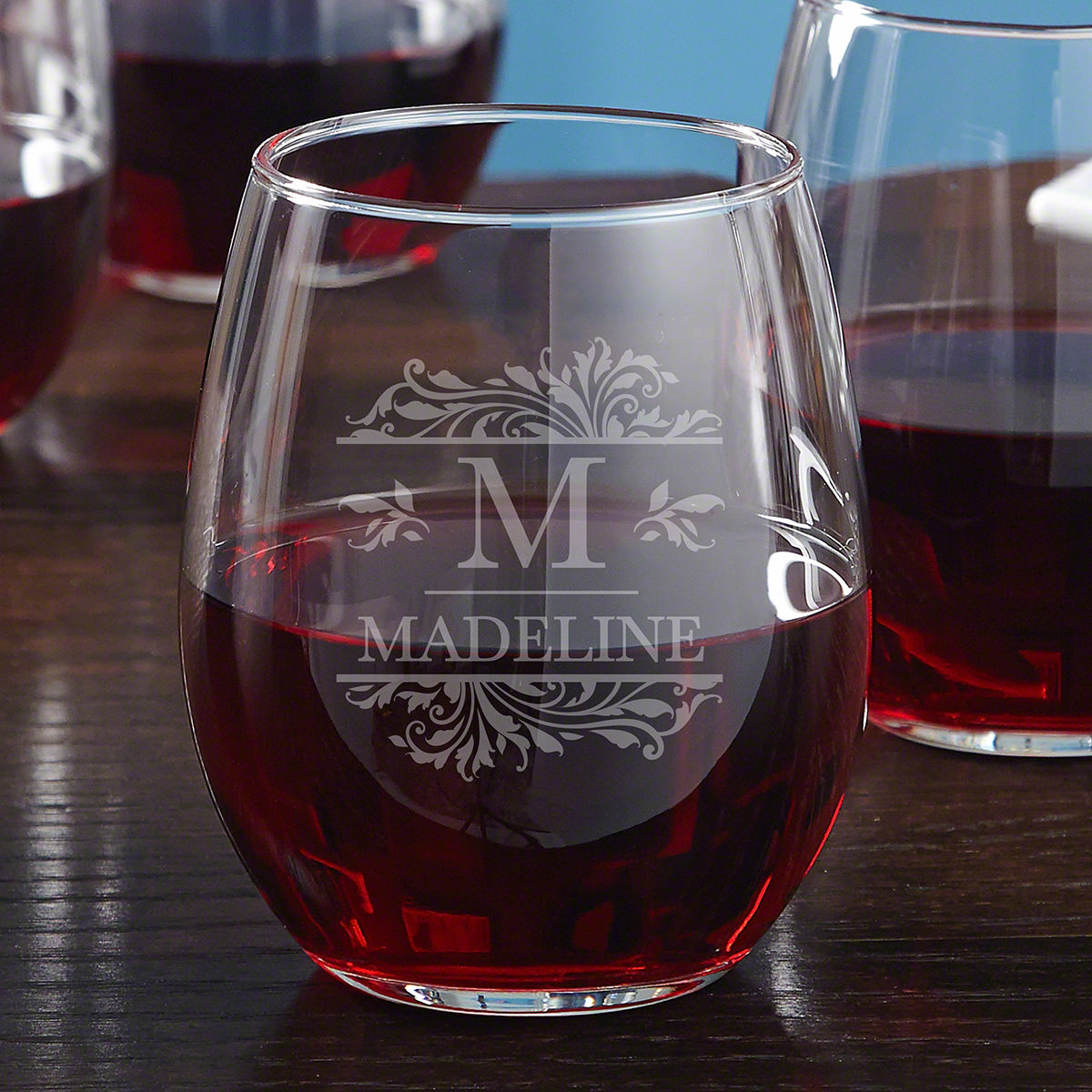 Savannah Custom Stemless Wine Glass