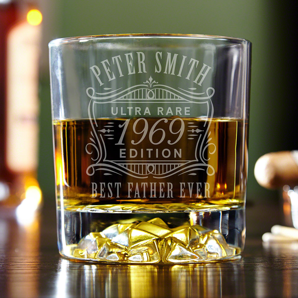 Ultra Rare Edition Custom Fairbanks Whiskey Glass