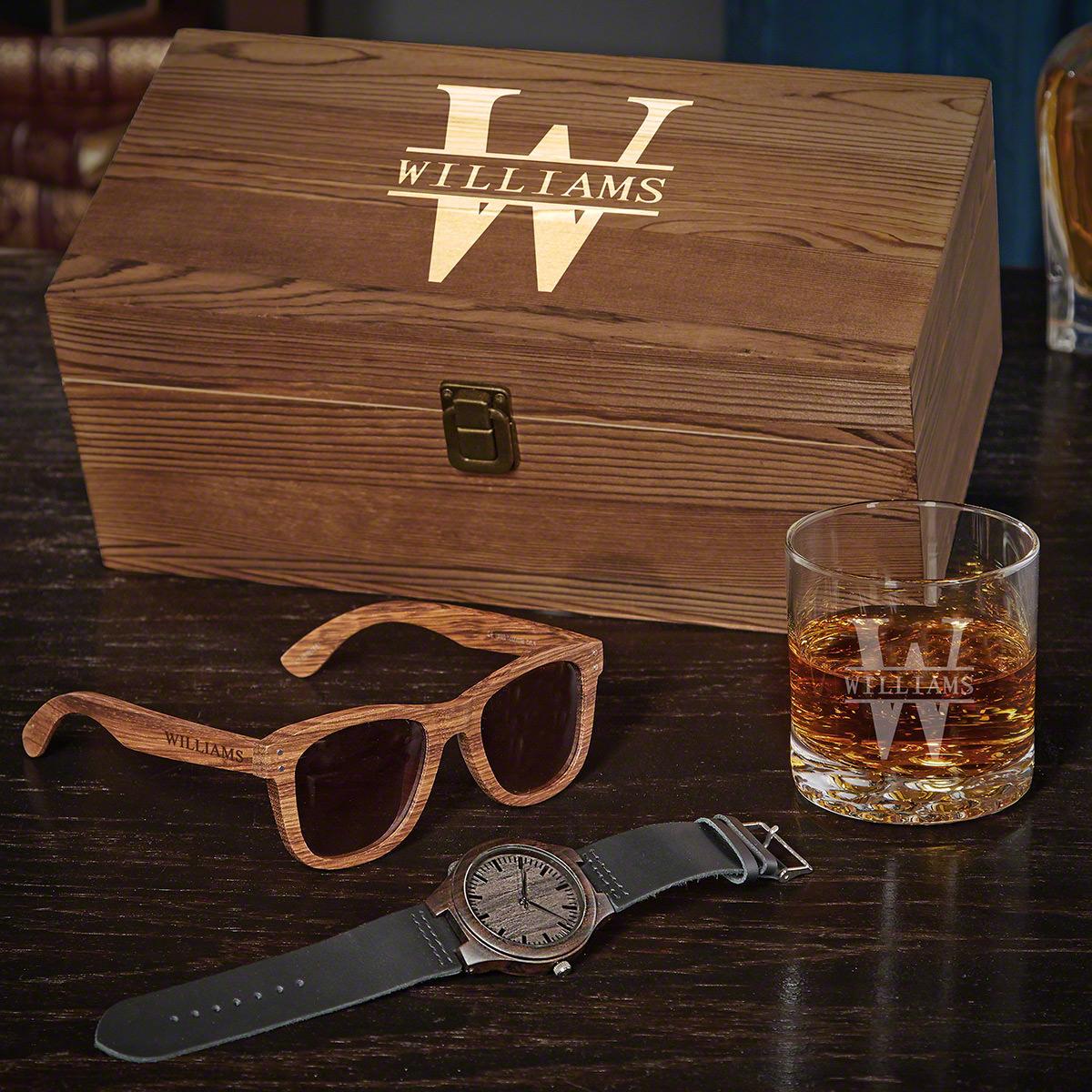 Oakmont Engraved Groomsmen Gift Box Set