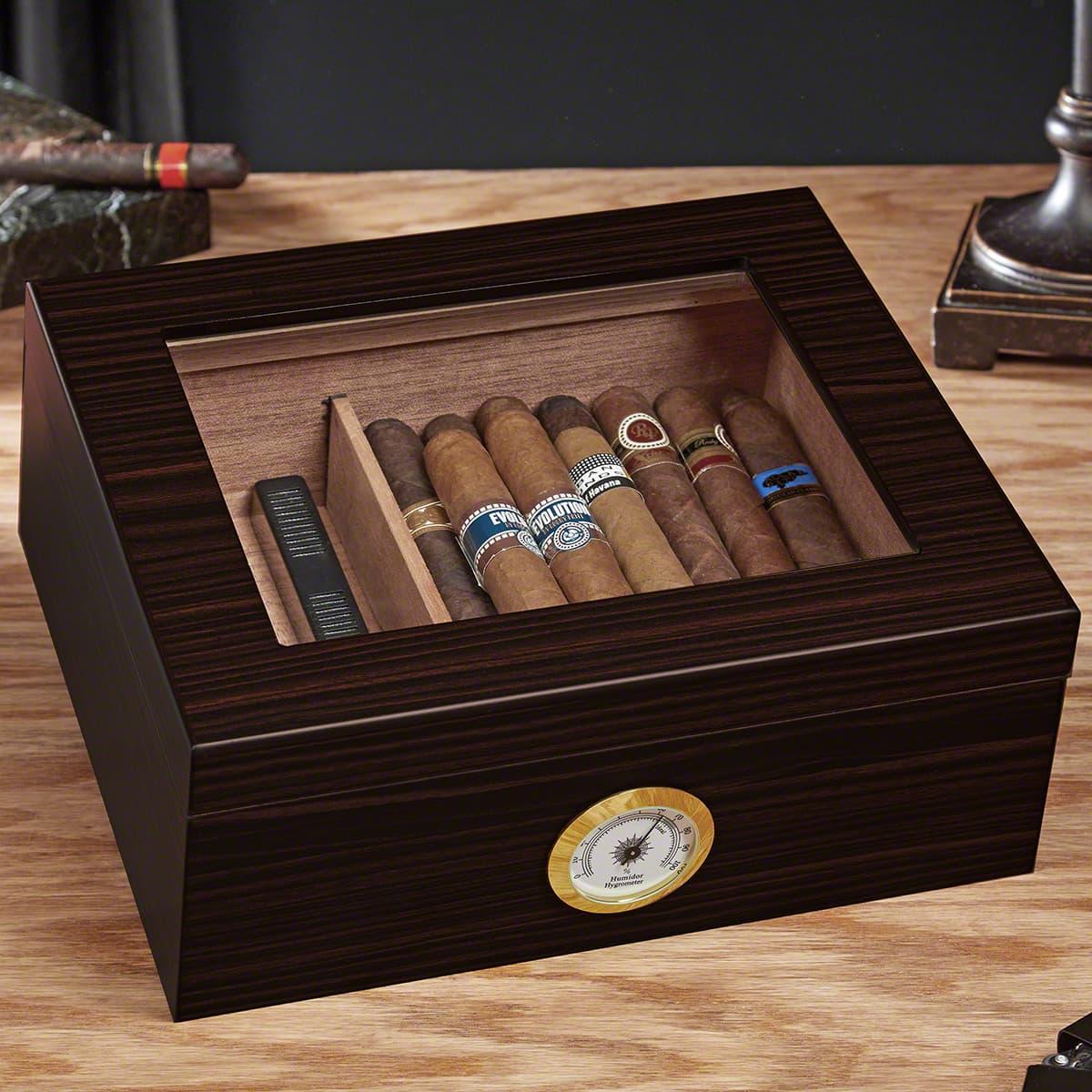 Espresso Cigar Humidor