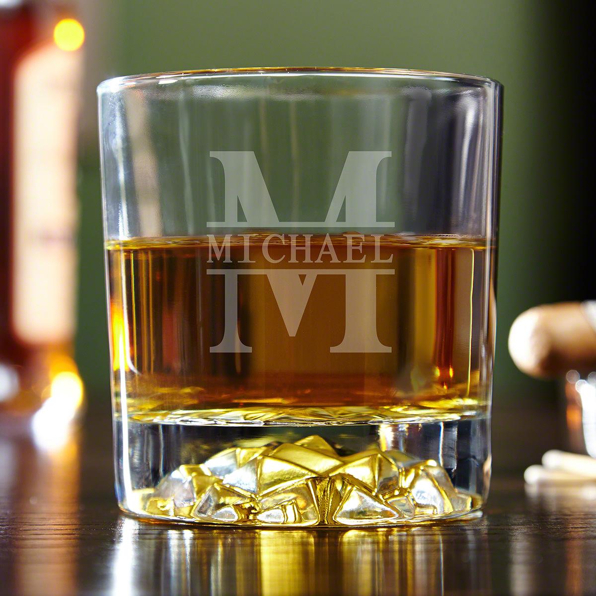 Oakmont Custom Fairbanks Whiskey Glass