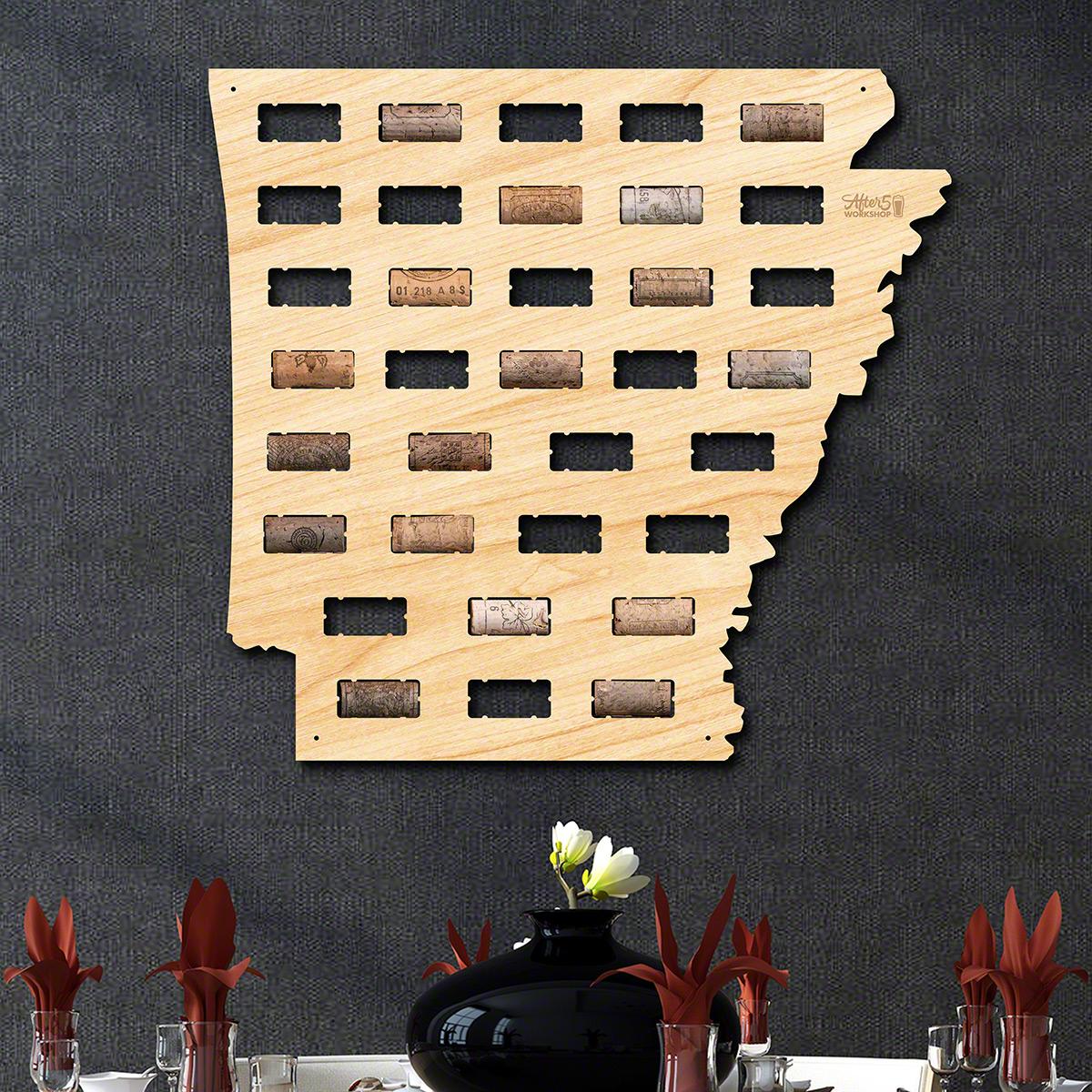 Arkansas-Wine-Cork-Map