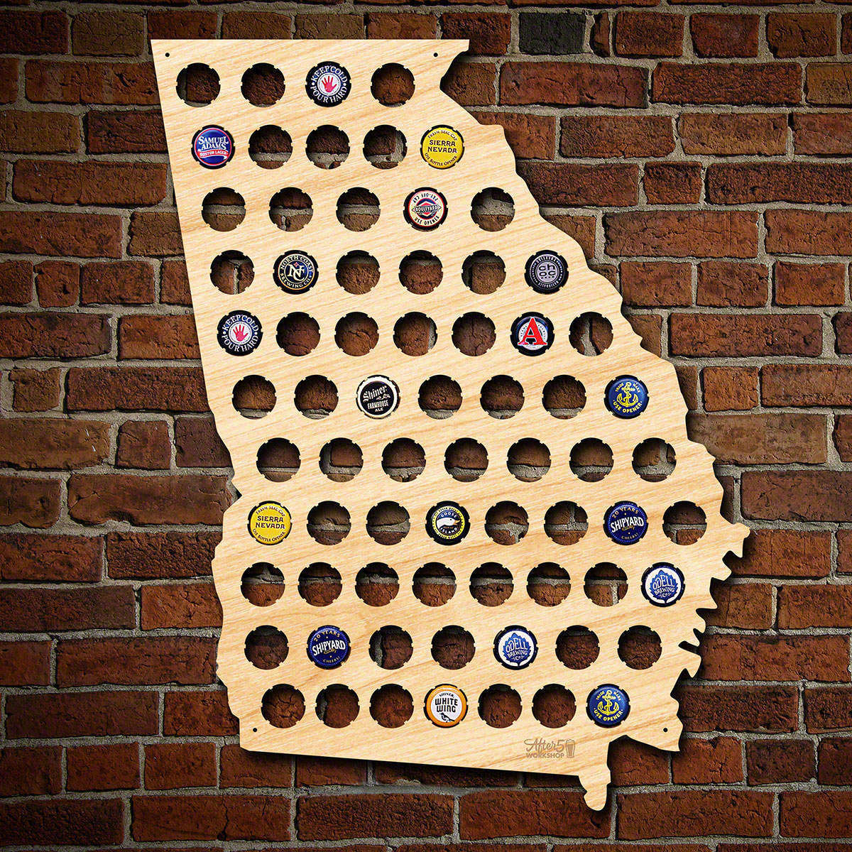 Georgia-Beer-Cap-Map