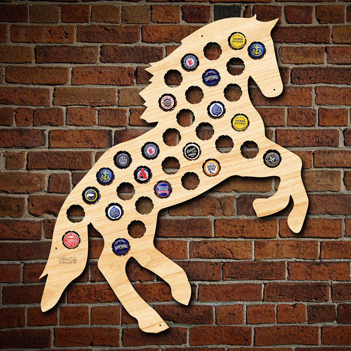 Spirited Horse Beer Cap Holder